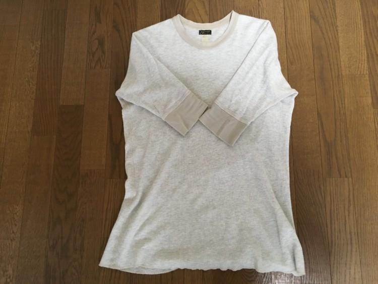 五分袖シャツ