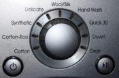 洗濯機のボタン
