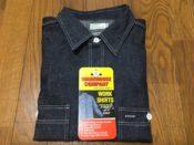 ウエアハウス lot3067 デニムワークシャツ