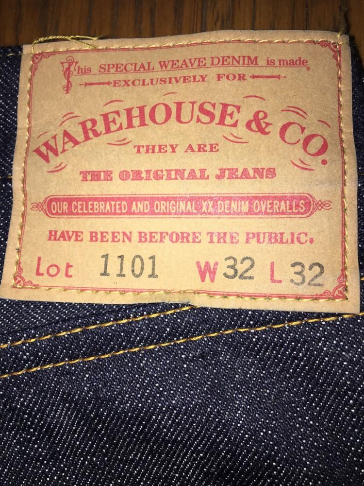 ウエアハウス lot 1101 福袋モデル